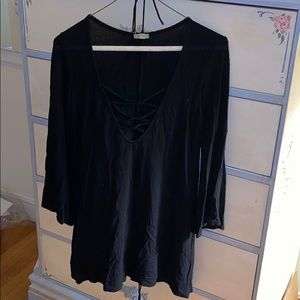 Urban Outfitters Low Cut Blouse